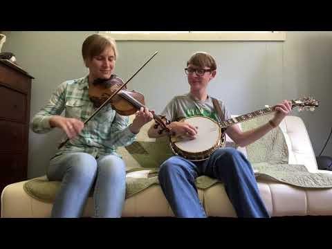 Two O'clock in the Morning - fiddle and banjo - Aynsley Porchak & Lincoln Hensley #Video