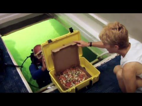 Underwater Pizza Delivery Video. Your Daily Dose Of Internet.