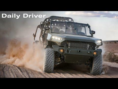 GM's New Army Transport Video, $10 Million Ford GT, Dodge's 8,950HP Lineup - Daily Driver