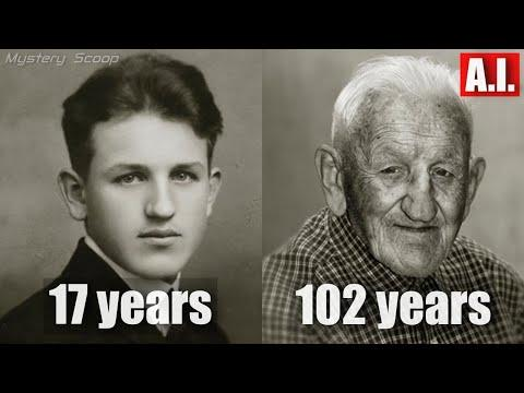 Then And Now Photos of 100 Year Old People Vol. 2 #Video