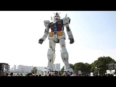 Japan Builds Giant 60 Foot Tall Robot Video. Your Daily Dose Of Internet