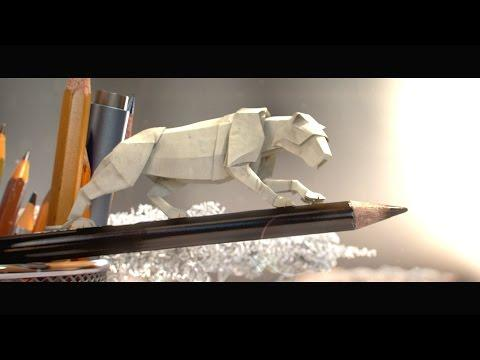 Animated Paper Wildlife Carries Macro-message Of...