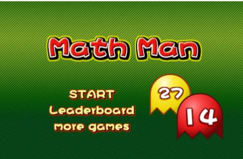 Free Game: Math Man
