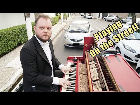 I Played a Piano Concert in my Truck Video