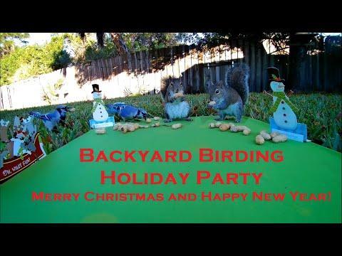 Backyard Birding Christmas Party
