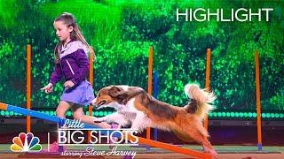 Little Big Shots - Incredible Little Dog Trainer (Episode Highlight)
