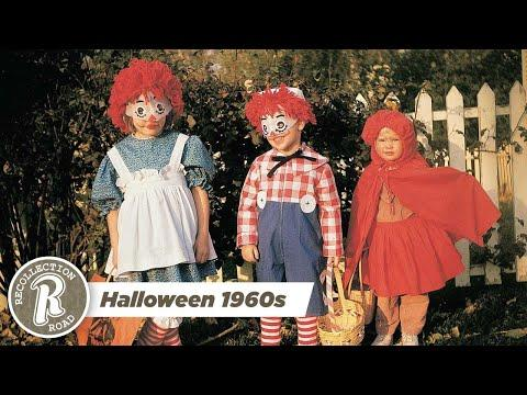 Halloween in the 1960s - Life in America #Video