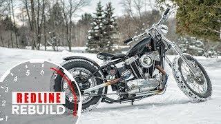 Harley-Davidson Sportster Motorcylce Rebuild Time-lapse | Redline Rebuild #8
