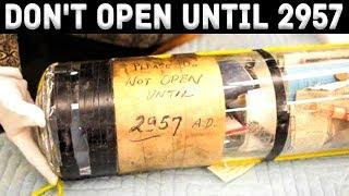 10 UNBELIEVABLE TIME CAPSULES