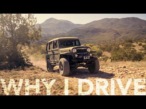 Vintage 1958 Willys Jeep wagon 4x4 hits the trails in the rugged Arizona outback | Why I Drive #27