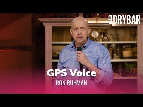 Your GPS Voice Should Match Your Car Video. Comedian Ron Ruhman