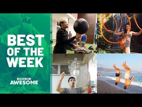 Medicine Ball Workouts & Hula Hoop Tricks | Best of the Week