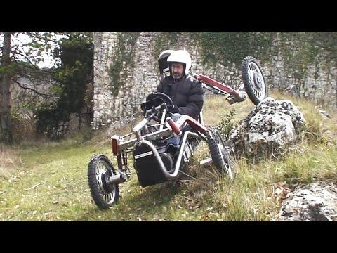 Spider Car !!! Crazy French Offroad Vehicle