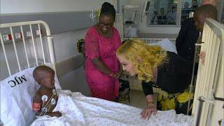 Madonna opens a children's hospital in Malawi