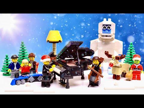 LEGO Guys Play All I Want For Christmas Is You In Your FAVORITE MOVIE Scenes! The Piano Guys