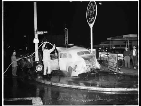 35 Remarkable Photos of Traffic Accidents in California During the 1950s