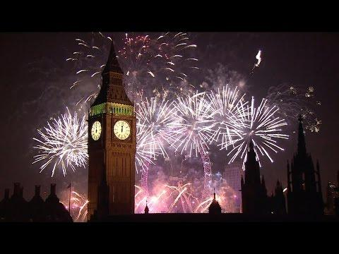 London Fireworks 2015 - New Year's Eve Fireworks