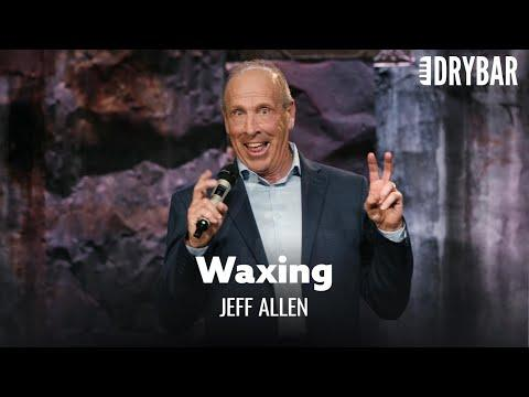 Women Want You to Wax Your Chest Hair. Comedian Jeff Allen
