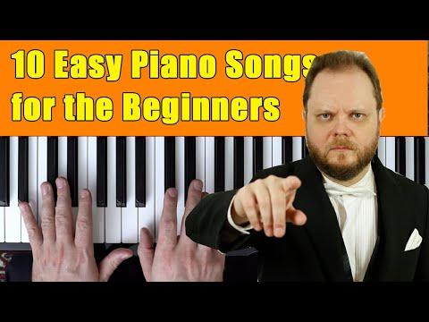 10 Easy Piano Songs for the Beginners
