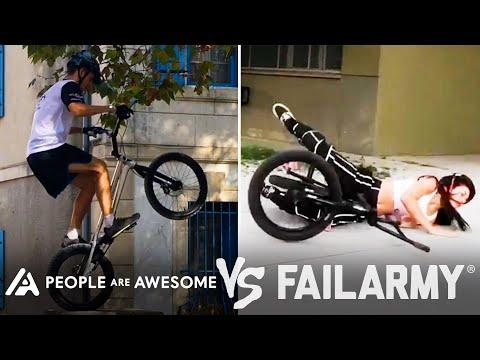 BMX Tricks & More Wins VS. Fails   People Are Awesome Vs. FailArmy #Video