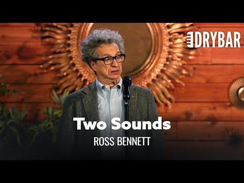 Old Men Only Make Two Sounds. Comedian Ross Bennett #Video