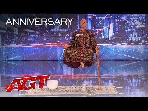 Special Head Levitates and Shocks the World Video - America's Got Talent 2020