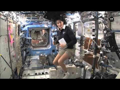 ISS Video - International Space Station - Inside ISS - Tour - Q&A - HD