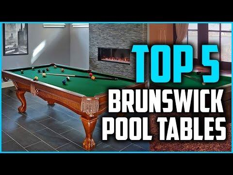 Top 5 Best Brunswick Pool Tables.