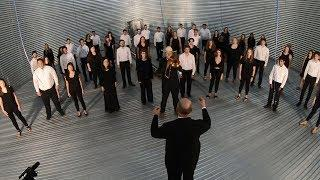 The Bethel College Choir sang in my grain bin! (Down To The River To Pray)