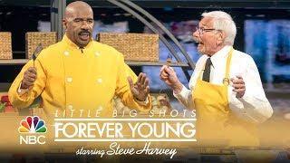 Little Big Shots: Forever Young - World's Fastest Omelet-Maker (Episode Highlight)