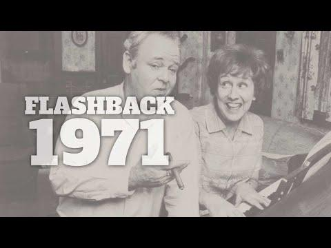 Flashback to 1971 - A Timeline of Life in America #Video