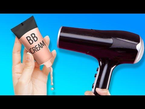 23 HOT TRICKS WITH HAIR DRYER AND OTHER COMMON TOOLS