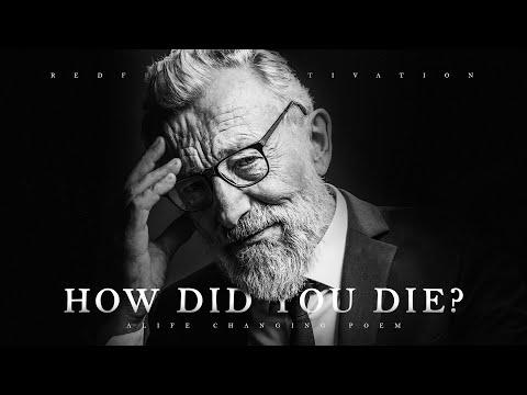 How Did You Die? - A Life-Changing Poem for Troublesome Times Video
