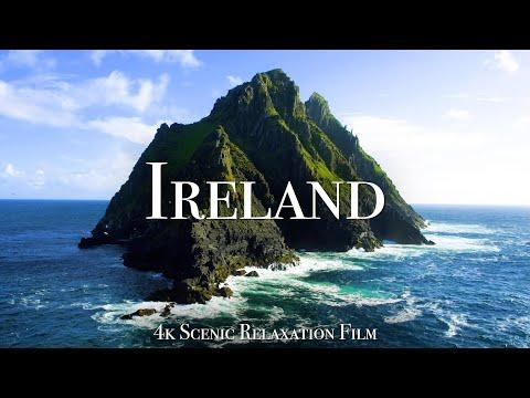 Ireland 4K - Scenic Relaxation Film With Calming Music #Video