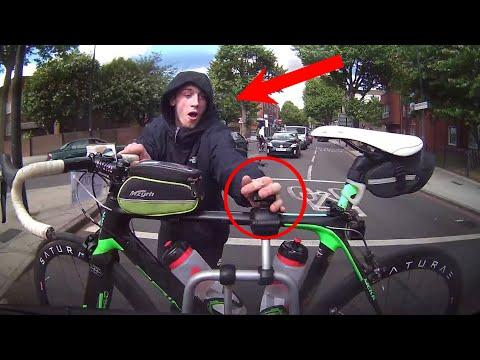 Bike Thief Caught On Camera! | Silly Criminals Caught on Camera