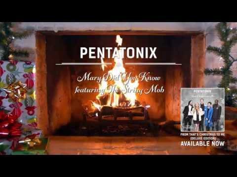 [Yule Log Audio] Mary Did You Know? - Pentatonix
