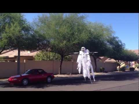 Flying Quadcopter Gost