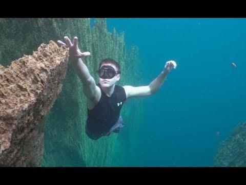 Falling Off An Underwater Cliff - Your Daily Dose Of Internet