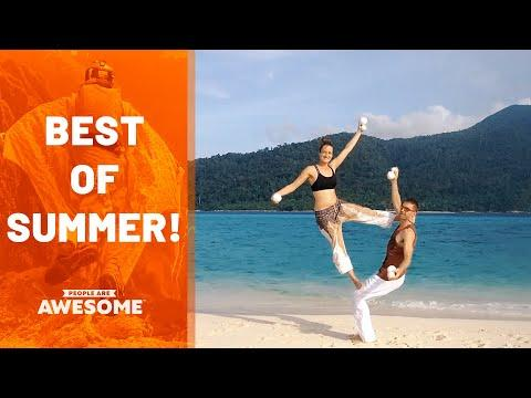 The Best Of Summer Sports Video | People Are Awesome