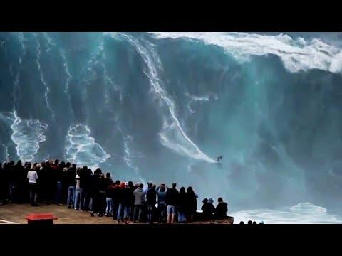 Top 10 Massive Waves Caught on Tape