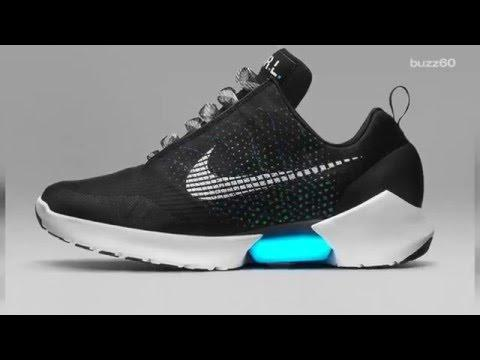 Self Lacing Shoes From 'Back To The Future' Now A Reality
