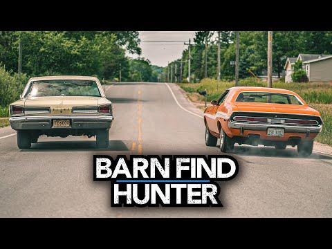 Dodge Polara 500 VS Challenger R/T: Dodges drag'n in the streets | Barn Find Hunter - Ep. 104 #Video