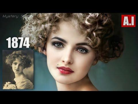 Beauties Of The Past Brought To Life V5 (AI Animated) #Video
