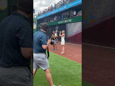 Sydney Mack's 'God Bless America' at Pittsburgh Pirates Game #Video