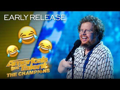 Comedian Ryan Niemiller Delivers His FUNNIEST Stand-Up YET! - America's Got Talent: The Champions