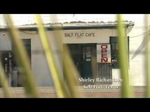 Unusual Life Styles: Shirley Richardson - Salt Flat Cafe