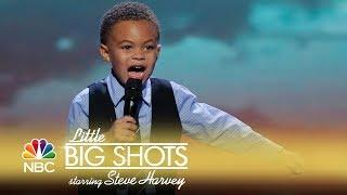 Little Big Shots - Caleb Is Back! (Episode Highlight)