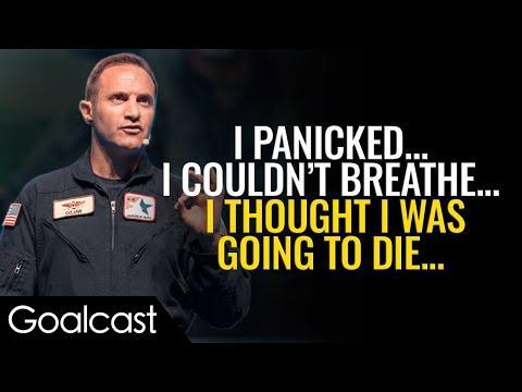 Scared Teen Transforms Into Fearless Fighter Pilot | Lt. Col Rob Waldman Speech | Goalcast