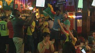 World Cup madness hits the U.S.