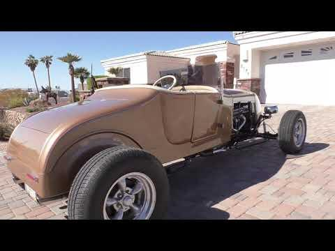 1927 Ford Track T Roadster Video